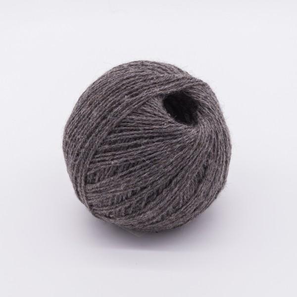 Alpakawolle Grau
